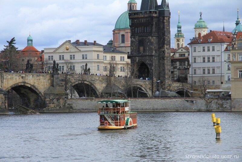 Прага, остров Кампа