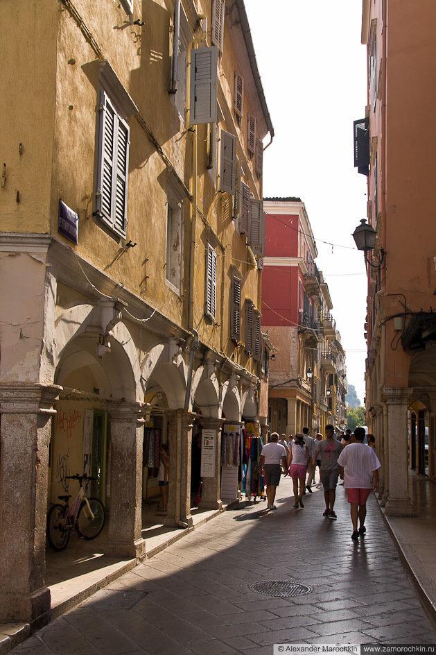 Керкира, пешеходная улица
