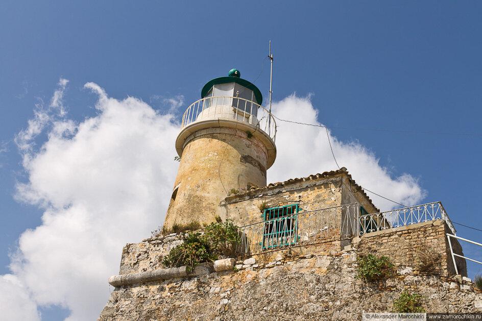 Маяк, Старая Крепость, Керкира, Греция