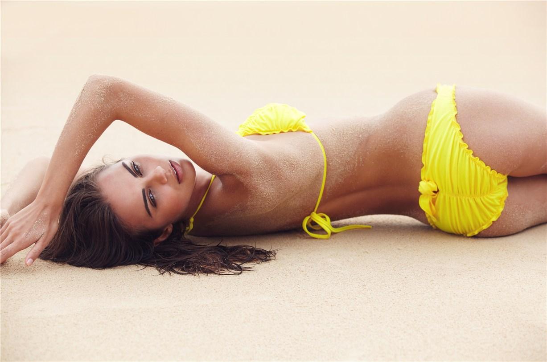 Xenia Deli / Ксения Дели в купальниках в каталоге Sports Illustrated South Africa 2012
