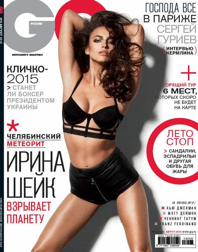 Irina Shayk / Ирина Шейк в журнале GQ Россия, август 2013 / фотограф David Roemer