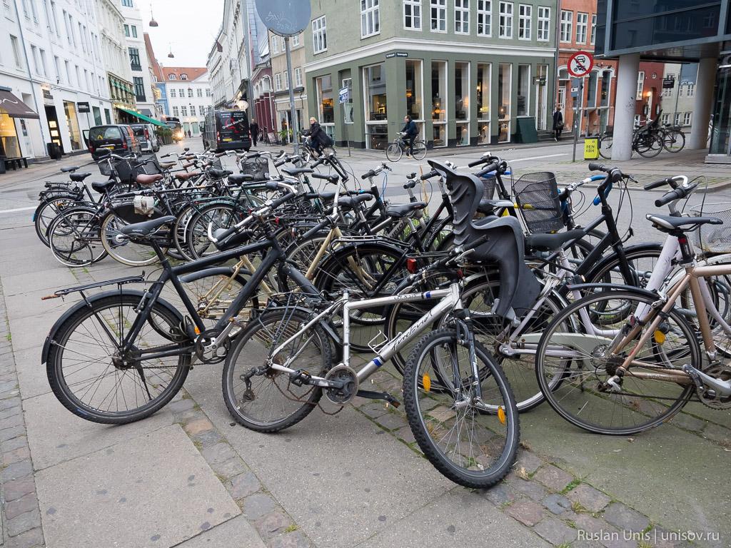 Велосипеды в Копенгагене