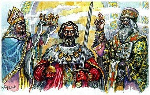 Коронация Даниила Галицкого