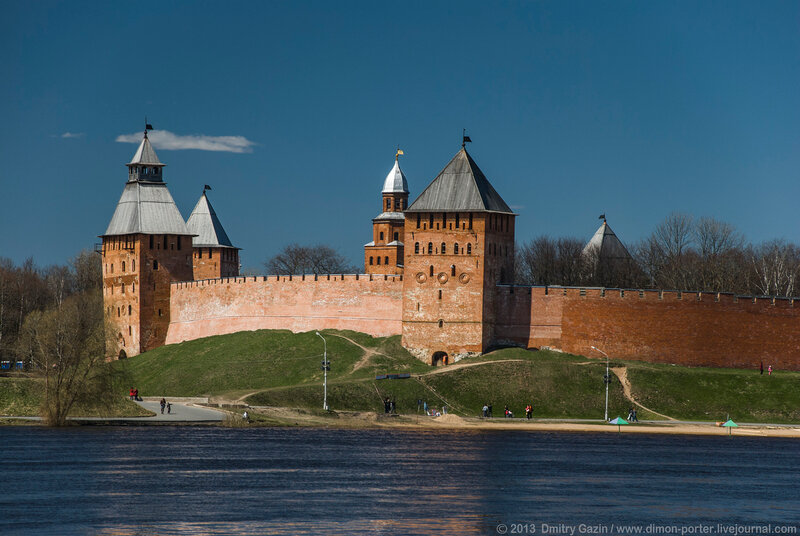 великий новгород кремль фото с описанием