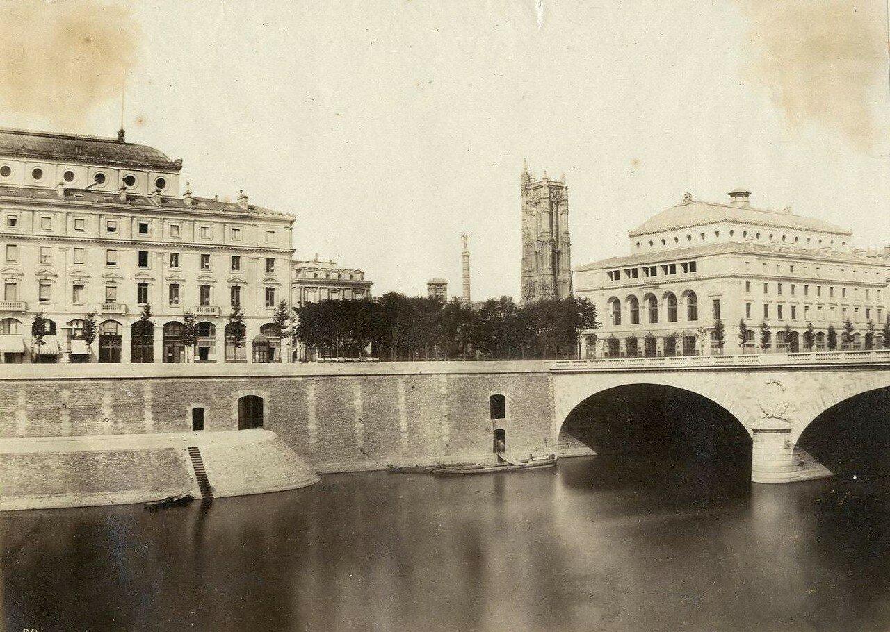 1880-е. Вид Сены