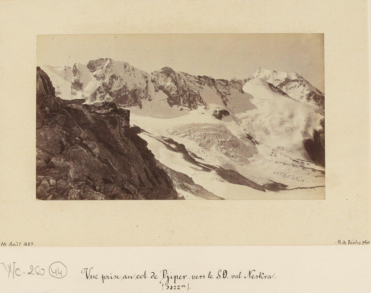 Вид перевала Джипер (3322 м.)