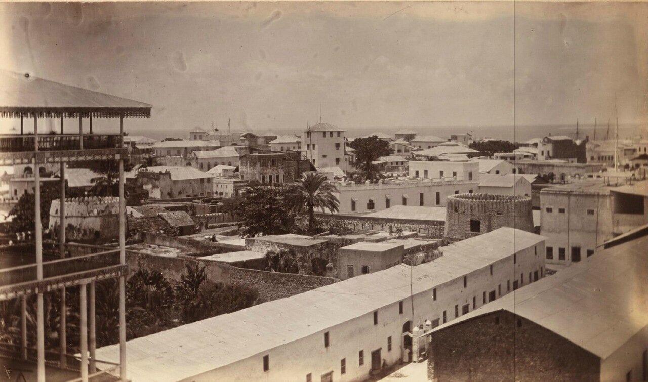 Вид на Занзибар с крыши