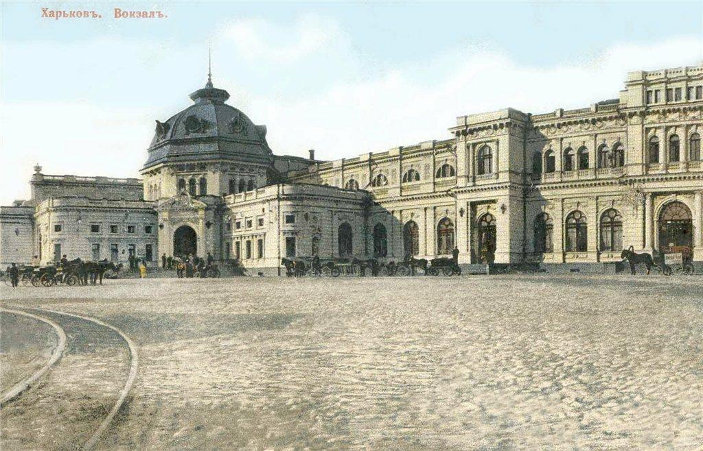 После реконструкции арх. Цауне 1901 г.