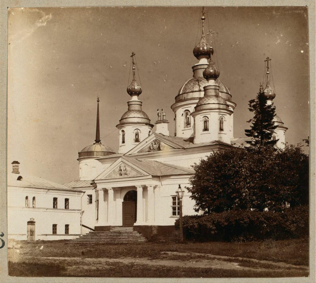 Церковь во имя Николая Чудотворца. Николо-Бабаевский монастырь. 1910.