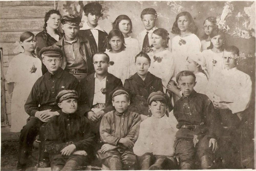 1923. Комсомольская организация с.Верховье Солигаличского уезда Костромской губ.