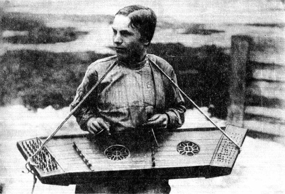 Белорусские цымбалы. Могилевская губ