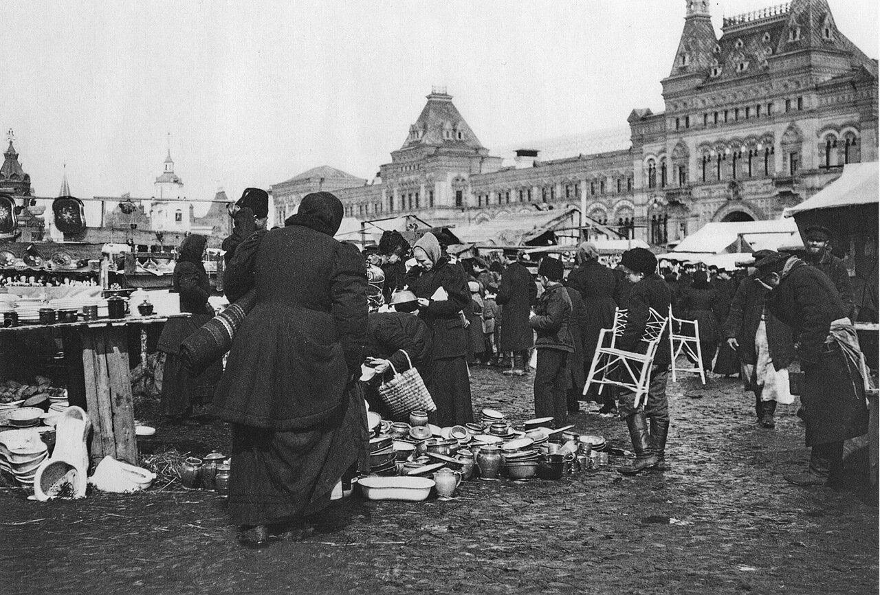 Рынок на Красной площади
