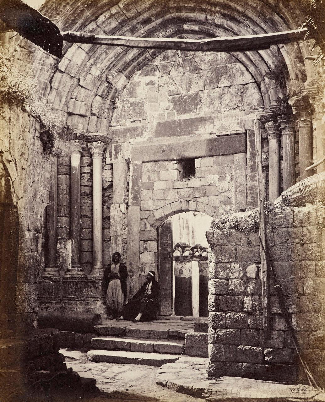 16 апреля 1862. Сарацинские ворота Наблуса