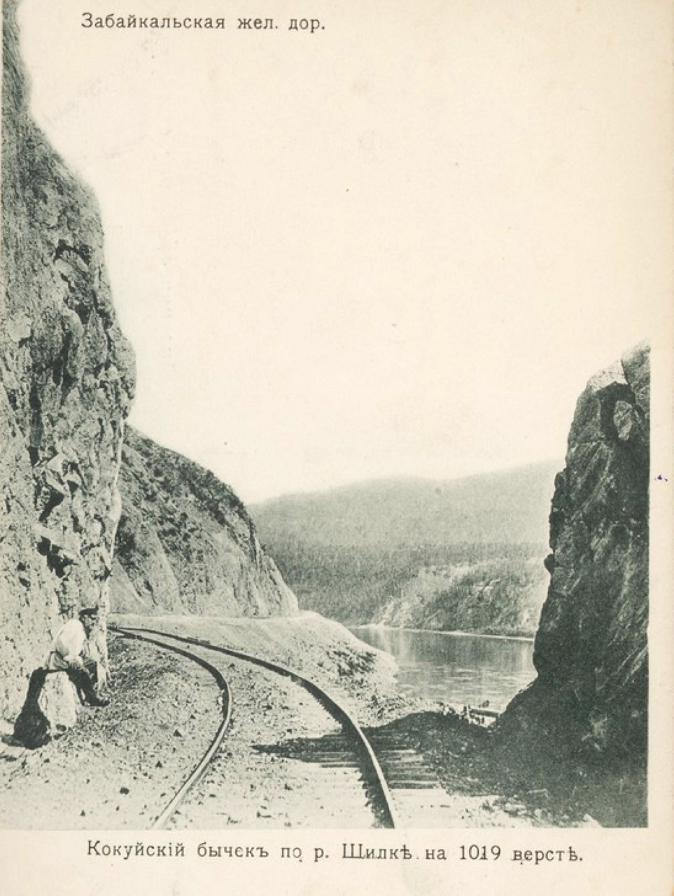 Кокуйский бычок по реке Шилке на 1019 версте