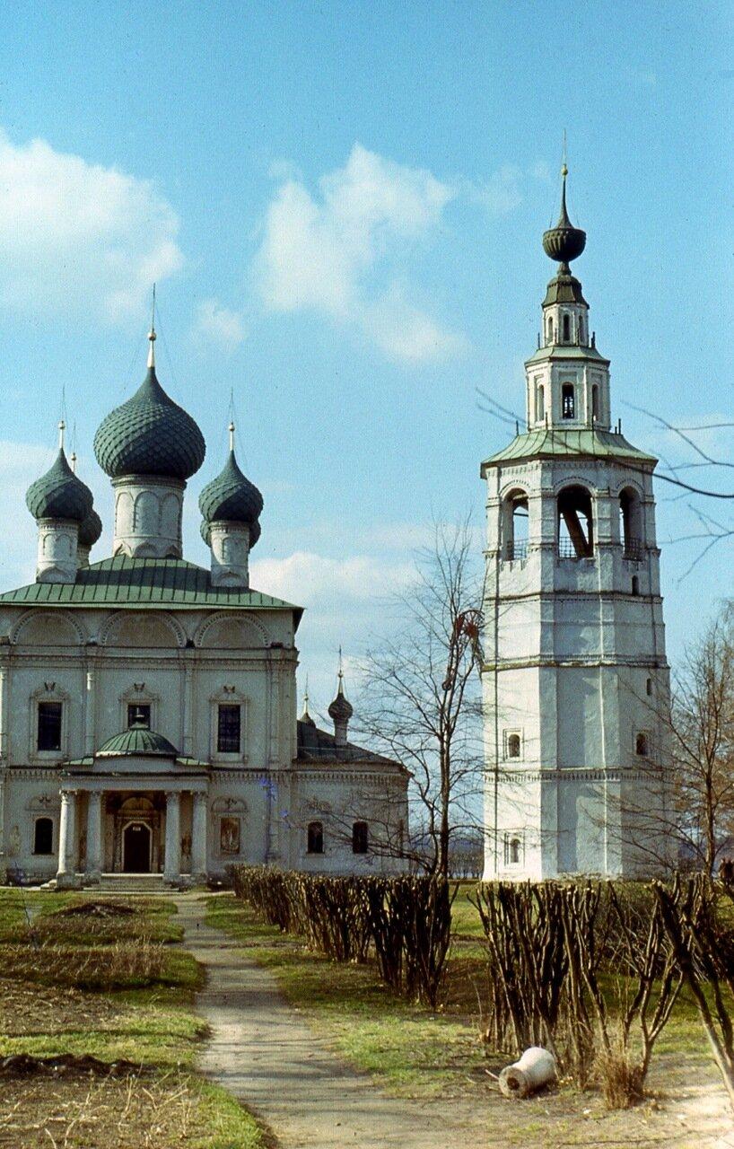 Углич. 1978 1. Спасо-Преображенский собор и колокольня