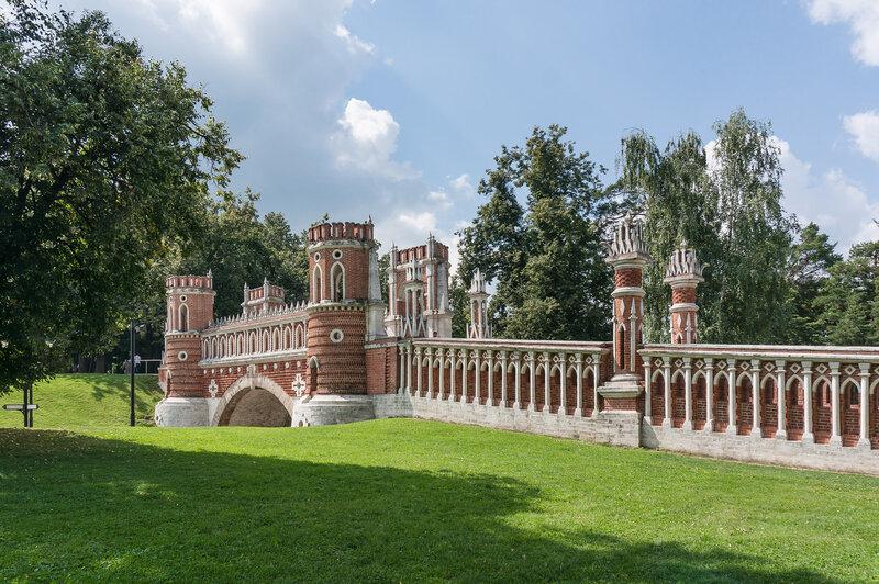Фигурные ворота в Царицыно