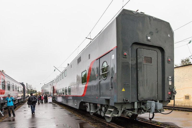 Новый двухэтажный вагон РЖД