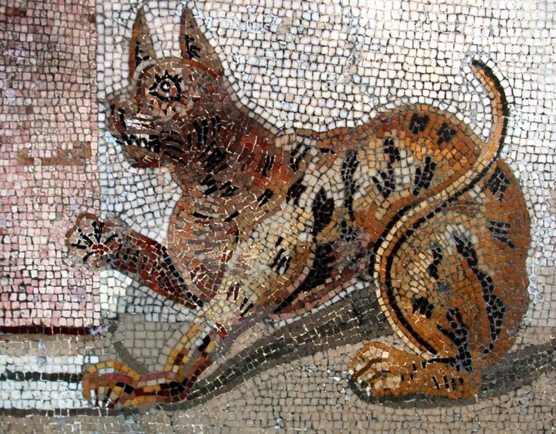 Помпеи. Мозаика