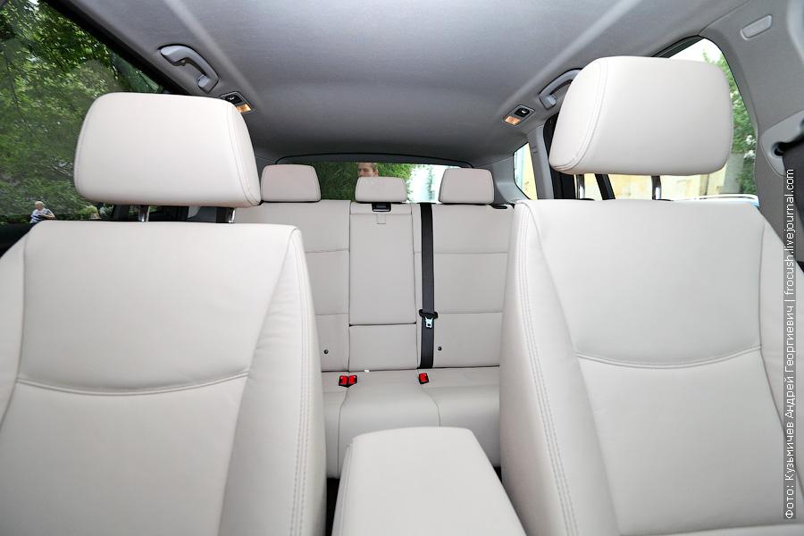 салон БМВ X3 xDrive30d