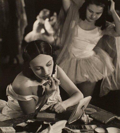 Ballet dancers, 1942 (Karel Ludwig)
