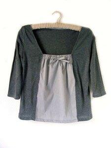 Расширяем блузку Marina Danilevskaya