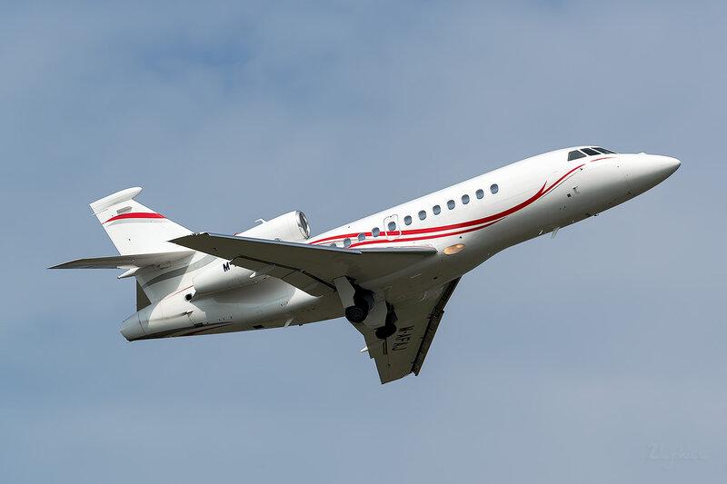 Dassault Falcon 900EX (M-AFAJ) DC Aviation D801406