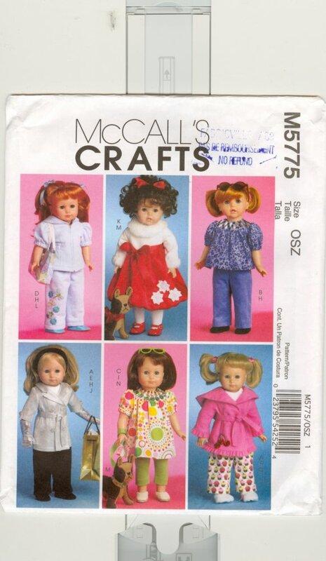 Одежда для кукол в дневниках