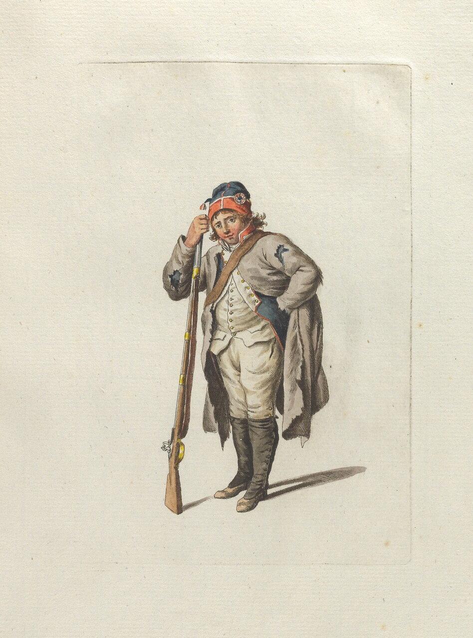 Наполеоновские войны №69 Рекрут пехотных полков, 1808–1812 гг.