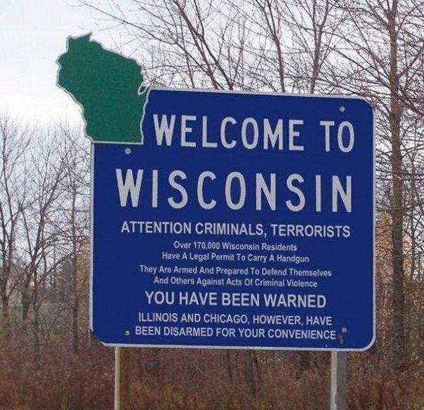 Добро пожаловать в Висконсин!