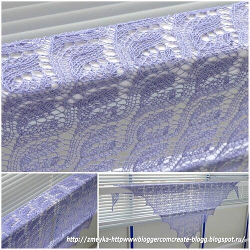 Lavender Shawl for Yuliya