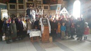 La hramul bisericii din s.Musteață