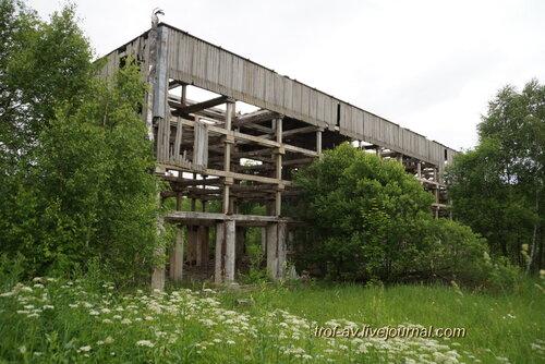 РЛС Дунай-3М, градирня