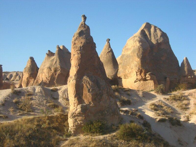 Национальный парк Гёреме - достопримечательности Каппадокии - ЮНЕСКО, Смотровые площадки, Руины, Парки, Достопримечательности, Горы - turkey, cappadocia