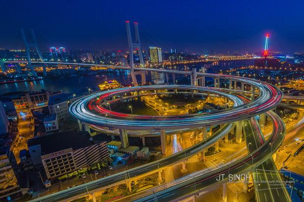 Тайм-лапс тур по Шанхаю