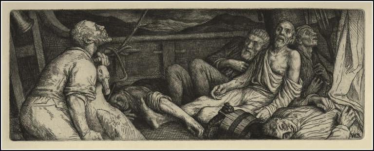 William Strang, The Ancient Mariner 10
