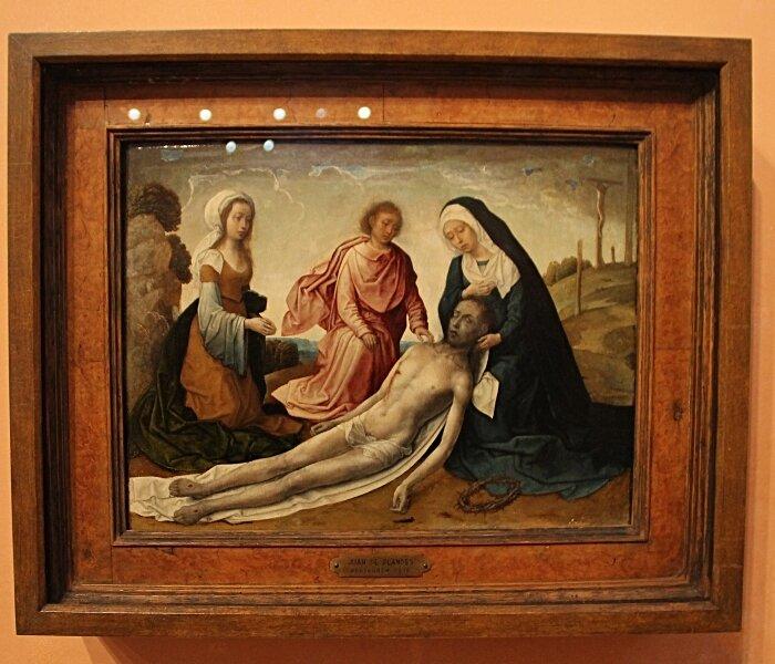 Мадрид. Музей Тиссена-Борнемисы. Немецкая и испанская живопись 15 века