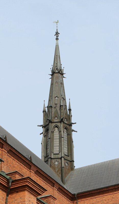 Уппсала. Кафедральный собор. Uppsala, Cathedral