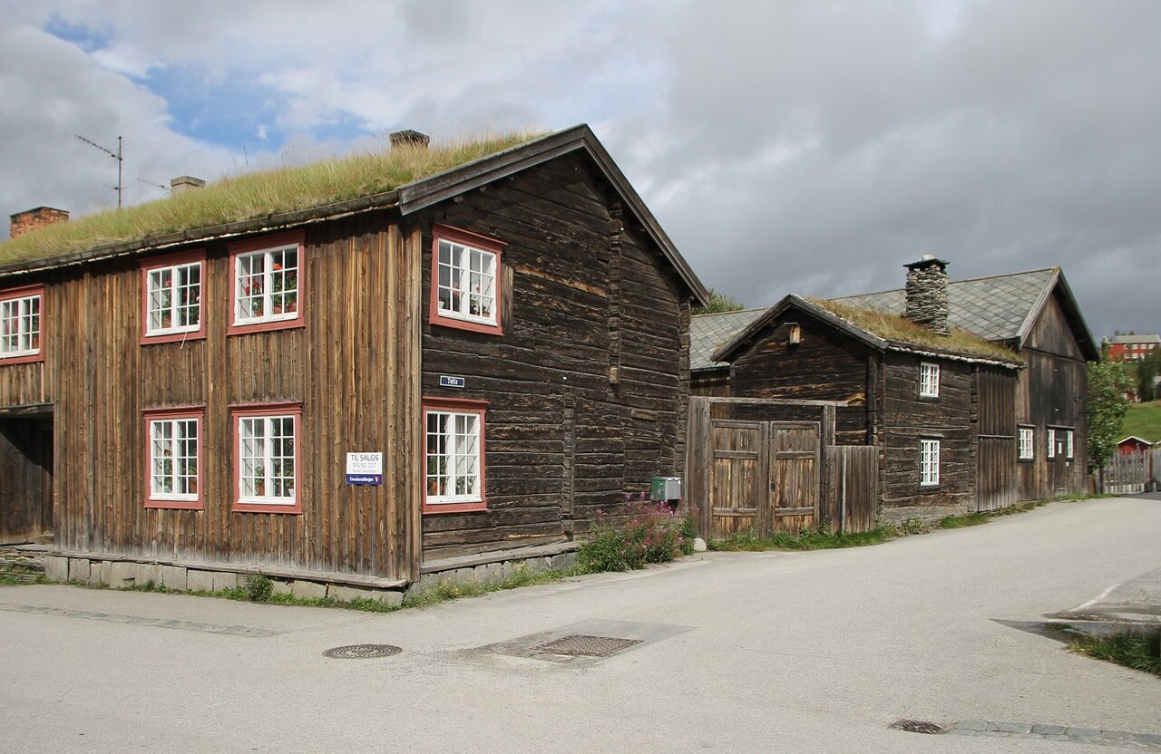 Røros. Wooden architecture