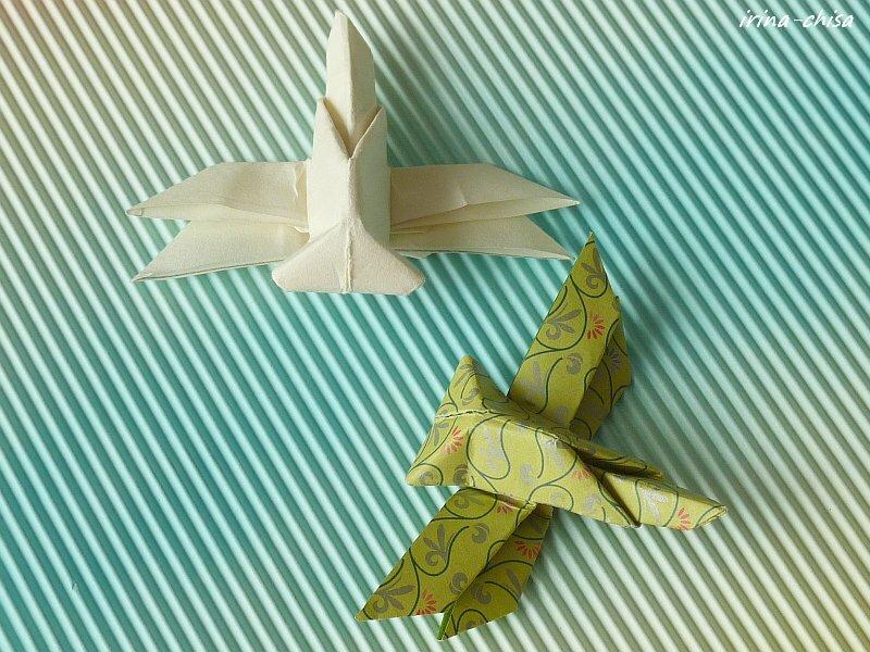 Цветок лотоса по схеме Tadashi