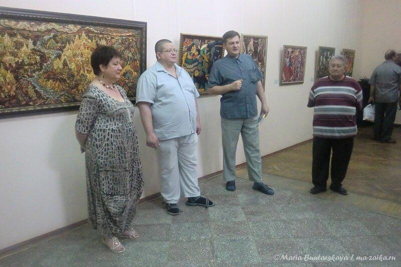 Выставка 'Путешествие по Вселенной' Алексея Карнаухова, Саратов, Радищевский музей, 30 мая 2013 года