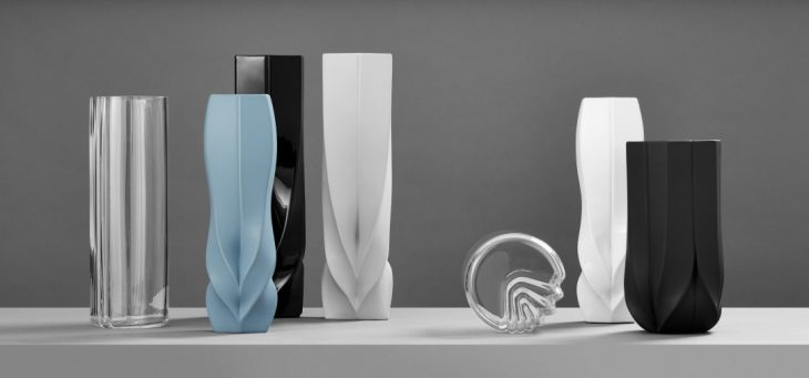 Zaha Hadid Design  developed a new Collection at Maison et Objet , reinterpreti