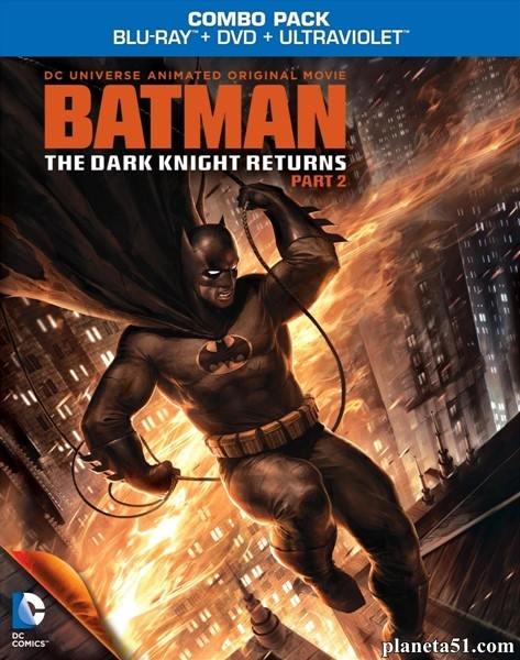Темный рыцарь: Возрождение легенды. Часть 2 / Batman: The Dark Knight Returns, Part 2 (2013/HDRip)