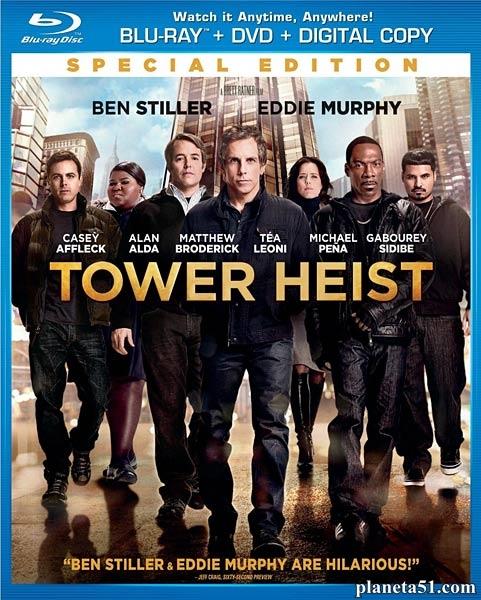 Как украсть небоскреб / Tower Heist (2011/HDRip)