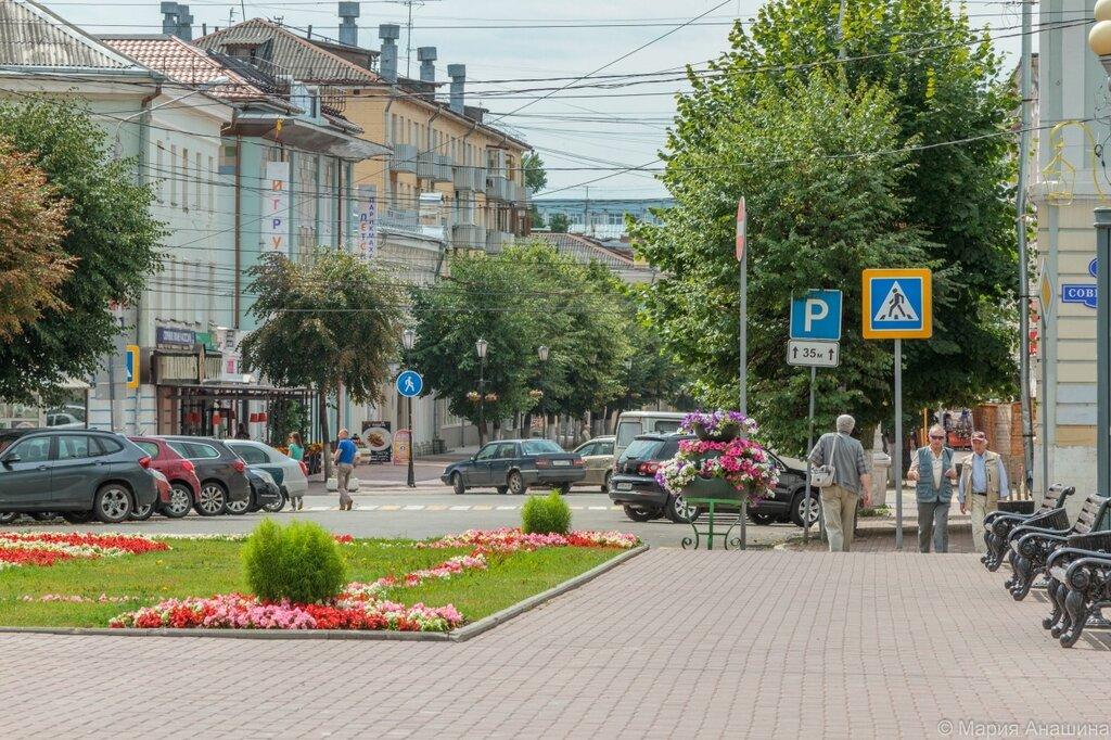 Трехсвятская улица, площадь Ленина, Тверь