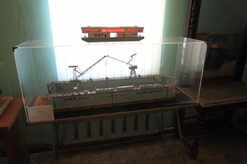 Городецкий краеведческий музей, модель дока