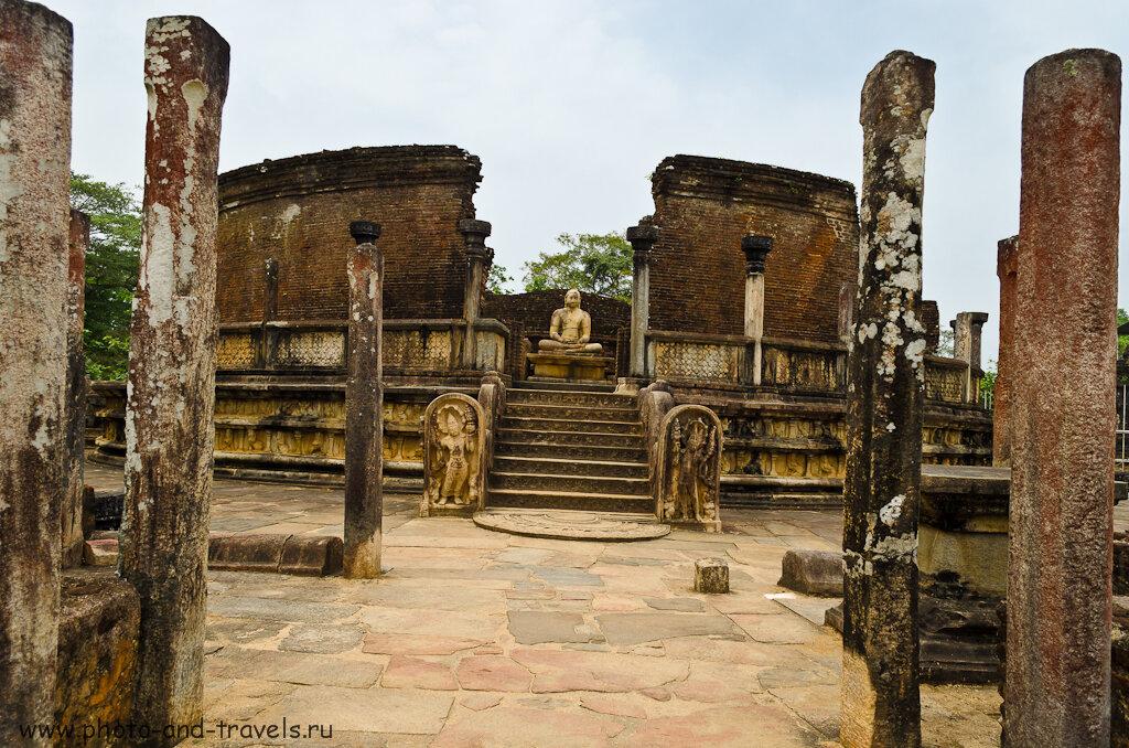 Расчет затрат на экскурсии в Шри-Ланке. Древний город Полоннарува нам тоже очень понравился.