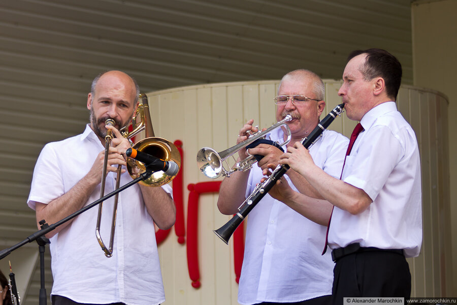 Тромбон, труба и кларнет