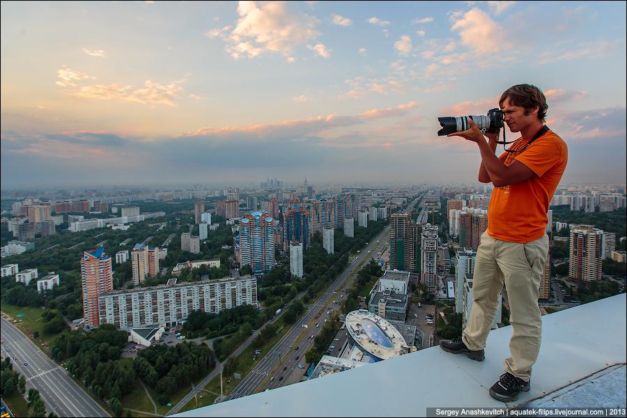 Москва или гигантский конструктор Lego
