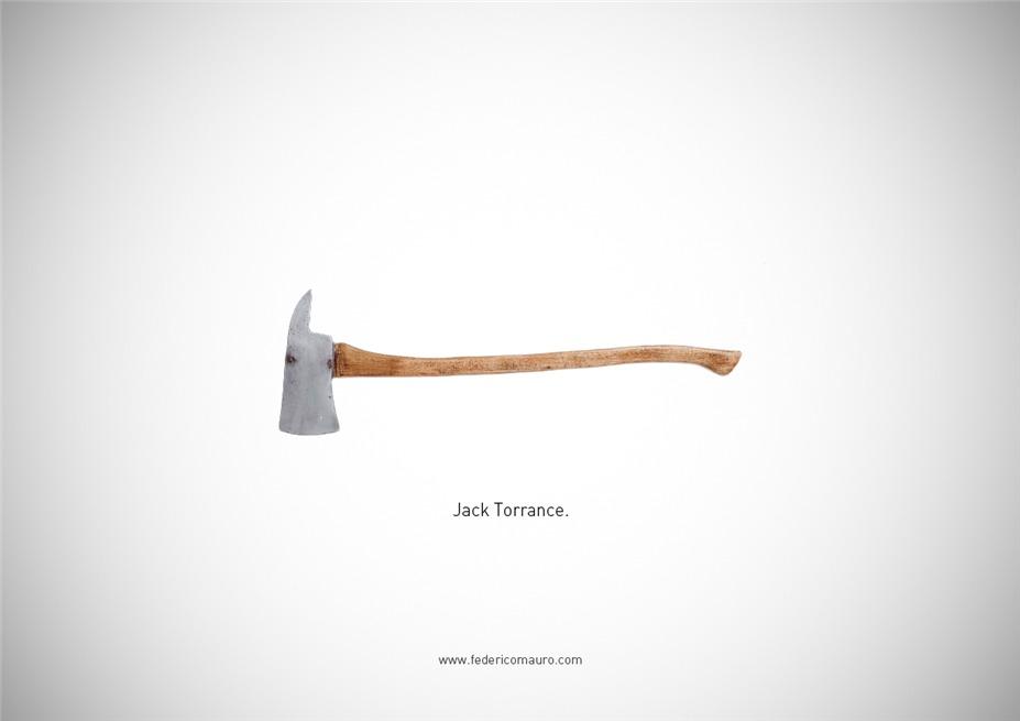 Знаменитые клинки, ножи и тесаки культовых персонажей / Famous Blades by Federico Mauro - Jack Torrance