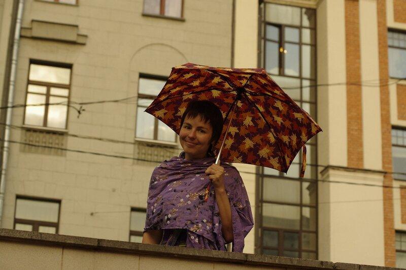 Тайшинка под моим зонтом 3